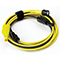 Premium Test Lead Yellow 5m BNC to 4mm