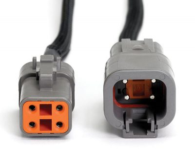 PICO-TA205 4-pin Large Deutsch DTPXX-4 Breakout Lead Connectors