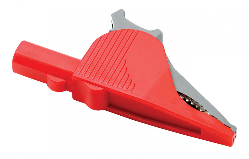 PICO-TA006 Large Dolphin Clip (Red)