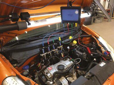 WPS500X Four Cylinder Compression Test