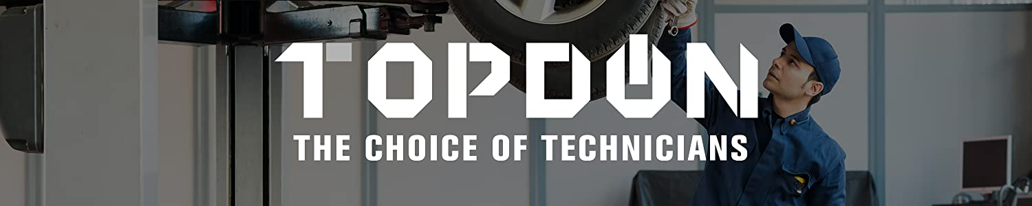 Topdon choice of technicians