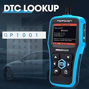 Topdon Elite DTC Lookup