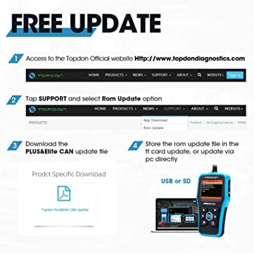 Topdon Elite Free Updates