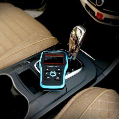 Topdon Elite Scanner in a Vehicle